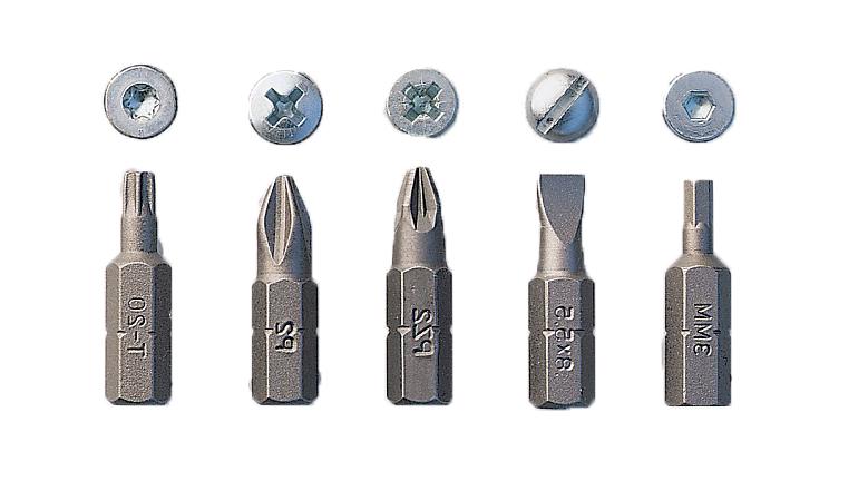 set, juego de puntas, kit de puntas atornillador