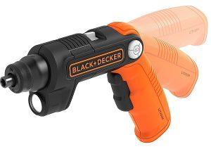 Black+Decker BDCSFL20C-QW Atornillador con Batería