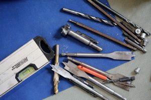 Brocas para metal, brocas para madera y hormigon